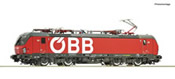 Austrian Electric locomotive class 1293 of the OBB