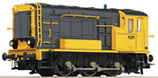 Diesel Locomotive S.500/600 yellow/gray
