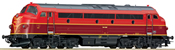 Diesel locomotive Nohab, red/red