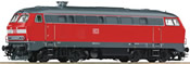 German Diesel Locomotive Series 218 of the DB AG
