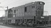 Czechoslovakian Diesel Locomotive T669 of the CSD