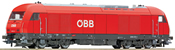 Diesel locomotive Rh 2016 of the ÖBB with sound