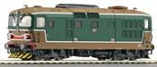 Italian Diesel Locomotive D.343 of the FS
