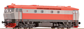 Diesel locomotive T478.1, grey/red