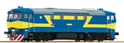 Diesel Locomotive 752 SND. Blue/yellow