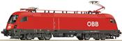 Austrian Electric Locomotive Class 1116 of the ÖBB