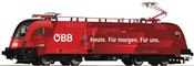 Austrian Electric Locomotive 1116 225-4 of the ÖBB (DCC Sound Decoder)