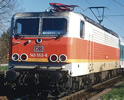 German Electric Locomotive BR 143 S-Bahn of the DB-AG (Sound)