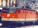 Austrian Electric Locomotive 1043.003-1 of the ÖBB