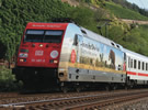German Electric Locomotive BR 101