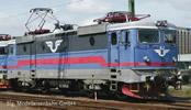 Swedish Electric Locomotive Rc4 of the SJ (DCC Sound Decoder)