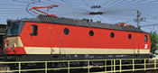 Austrian Electric Locomotive Series 1144 of the OBB