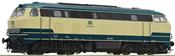 German Diesel Locomotive  218 218-6 of the DB