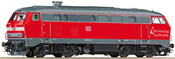 German Diesel Locomotive 218 220 of the DB AG