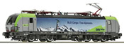 Swiss Electric locomotive Re 475 of the BLS Cargo