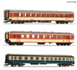 "3 piece passenger set 1: Express train ""E 712"""