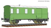 Goods train bagagge wagon