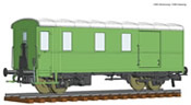 Goods train bagagge wagon