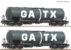 2 piece set: Tank wagons