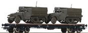 USA Flat Wagon & Half Track Vehicles of the USTC
