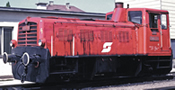 Austrian Diesel locomotive class 2062 of the ÖBB (Sound)
