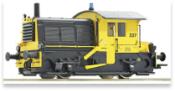 Dutch Diesel locomotive Sik of the NS (Sound)