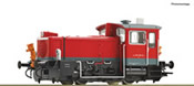 German Diesel locomotive 335 160-8 of the DB AG (Sound)