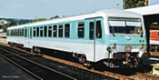 German Diesel railcar class 628.4 of the DB (Sound)