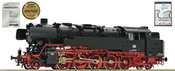 German Steam locomotive 85 009 of the DB (Sound)