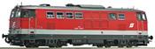 Diesel locomotive Rh 2143, sound, AC