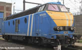 Belgian Diesel Locomotive Series 62 Infrabel of the SNCB