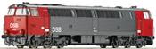 Danish Diesel Locomotive Class MZ 1400 of the DS (Sound Decoder)