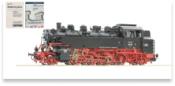 German Steam Locomotive 86 261 of the DRG (Sound Decoder)