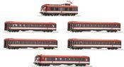 Austrian 6 piece electric multiple unit class 4010 of the OBB (Sound)