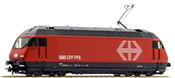 Swiss Electric Locomotive Class 460 with camera of the SBB (Sound Decoder)