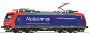 Swiss Electric Locomotive 482 018 of the SBB Cargo