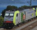 Swiss Electric Locomotive BR 486 BLS Cargo