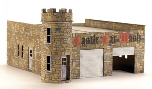 RSM 451002 - O Scale Laser Cut Castle Car Wash