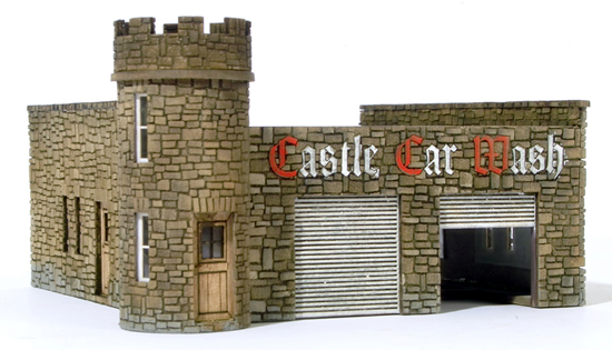 RSM 871002 - HO Laser Cut Castle Car Wash