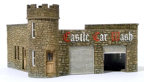 RSM 871002 - HO Laser Cut Castle Car Wash