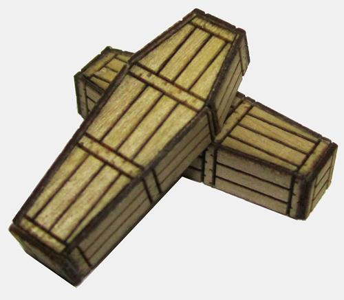 RSM 872002 - Generic Pine Coffins x5