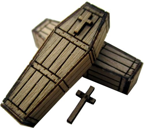 RSM 872003 - Western Pine Coffins x5