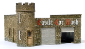 HO Laser Cut Castle Car Wash