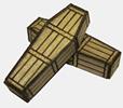 Generic Pine Coffins x5
