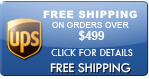 Free Shipping on Orders over $499
