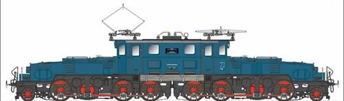 Spur1AT 30103 - Crocodile Class BR 1089 E89 005