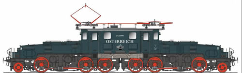 Spur1AT 30104 - Austrian Crocodile Class 1089 E89 104