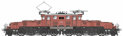 Spur1AT 30105 - Swiss Crocodile Class 1089 E89 006