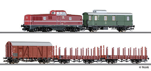 Tillig 01207 - Digital Freight Starter Set of the DB