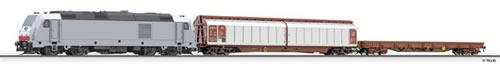 Tillig 01424 - Freight train beginner set with bedding track oval